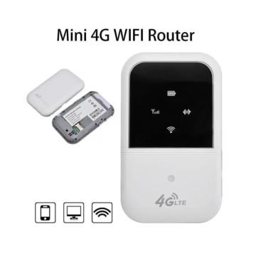 Vezeték nélküli, hordozható mini Router – SIM kártyás mobilinternet csatlakozással / 3G, 4G, LTE