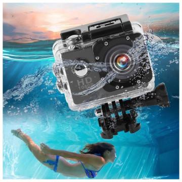HD vízálló akciókamera és fényképezőgép / Wi-Fi sp...