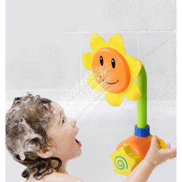 Spriccelő napraforgó – fürdőjáték gyerekeknek / 3+