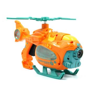 Buborékfújó helikopter – zenél és világít / 3+