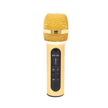 Mini kondenzációs mikrofon mobiltelefonhoz, számítógéphez / Visszhang effekttel