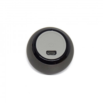 Extra mini Bluetooth hangszóró - 50 x 33 mm / szürke
