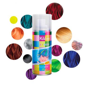 Hajszínező spray / Élénk színek / 120 ml / Narancssárga
