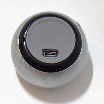 Extra mini Bluetooth hangszóró - 50 x 33 mm / metál szürke (N3)