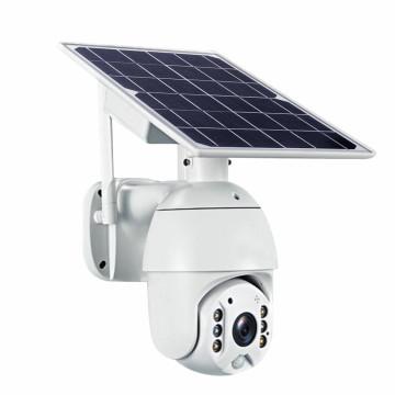 Intelligens, napelemes WiFi biztonsági kamera mozgásérzékelővel / PTZ kamera