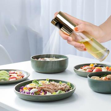 Olaj- és ecetadagoló - olajspray, üveg olajszóró / 100 ml