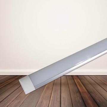 T12 LED fénycső armatúrával, 120 cm - hideg fehér