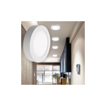18W kerek, külső szerelésű LED panel
