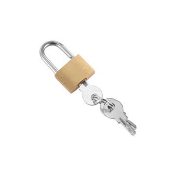 Nagy sárgaréz lakat 3 db kulccsal