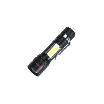 USB-ről tölthető Tech Light LED lámpa piros-kék vi...
