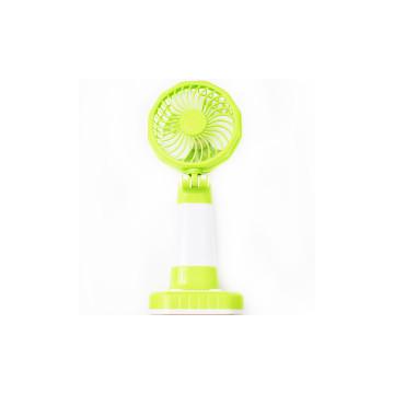 Kis, asztali ventilátor LED világítással / USB-ről tölthető