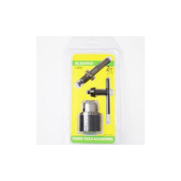 13 mm-es Fúrótokmány SDS adapterrel és fúrószár kulccsal