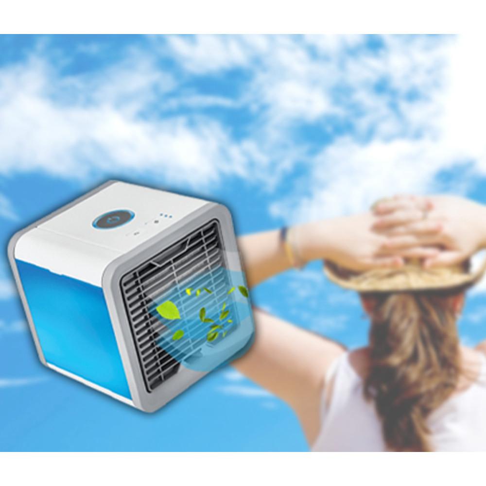 Hordozható léghűtő kocka / mini légkondicionáló és légtisztító