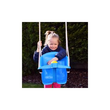 Beülős műanyag gyermekhinta kül- és beltérre