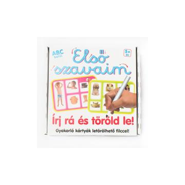 16 db-os fejlesztő kártyák betűk, számok és vonalvezetés gyakorlásához / több választható típus...