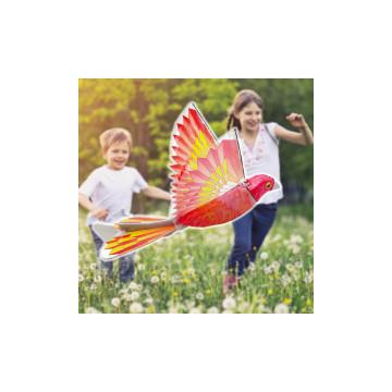 Habszivacs papagáj / elektromos repülő játék