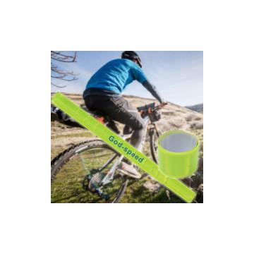 Kerékpáros láthatósági reflexszalag / biztonsági pánt és nadrágfogó