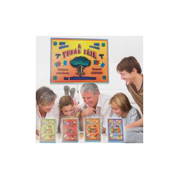A tudás fája – családi társasjáték, műveltségi kér...