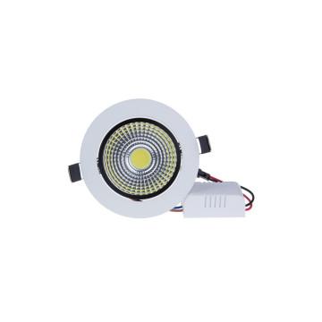 3W mini spot lámpa extra erős COB leddel / fehér keretes, billenthető