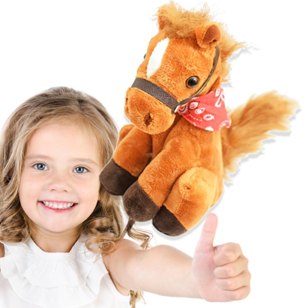 Beszélő plüss ló - a visszabeszélő paci