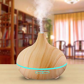 Fahatású aromaterápiás párologtató távirányítóval ...