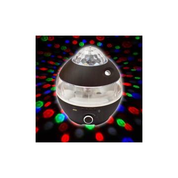 Aromaterápiás párologtató zenelejátszóval és party fénnyel / Bluetooth kihangosító