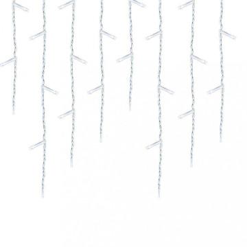 690 LED-es jégcsap fényfüggöny, hidegfehér
