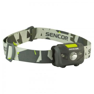 Sencor SLL 55 fejlámpa, szürke színben