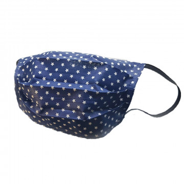Mosható szövet maszk, felnőtt nők számára, 5 db / csomag, csillagos