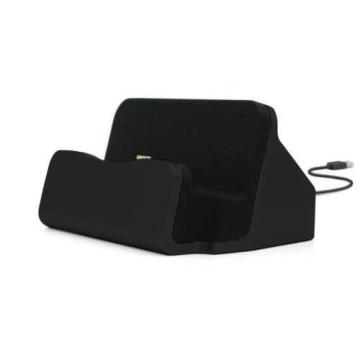Micro USB asztali töltő, fekete