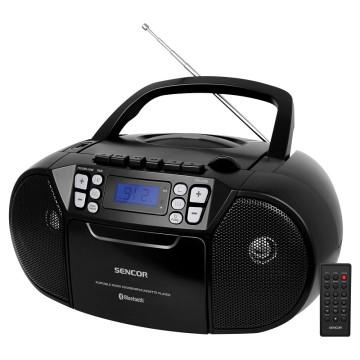 Sencor SPT 3907 B CD-s, USB-s, MP3 lejátszó és rádió