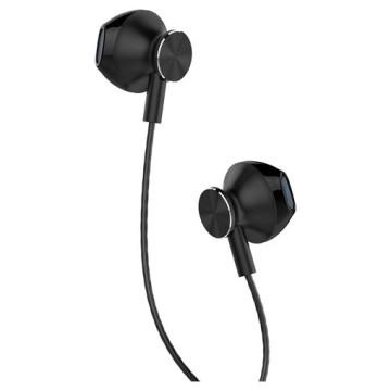 YENKEE YHP 305BK fülhallgató mikrofonnal - fekete