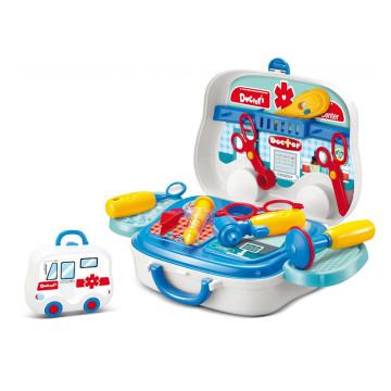 Doktor játékkészlet gyerekeknek 3+, méretek: 10 x ...