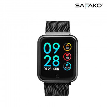Safako P68 Pro okosóra fekete színben