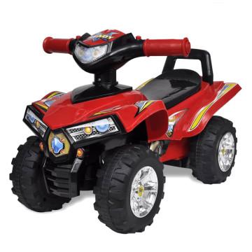 Gyerek játék quad hang- és fényeffekttel piros - u...
