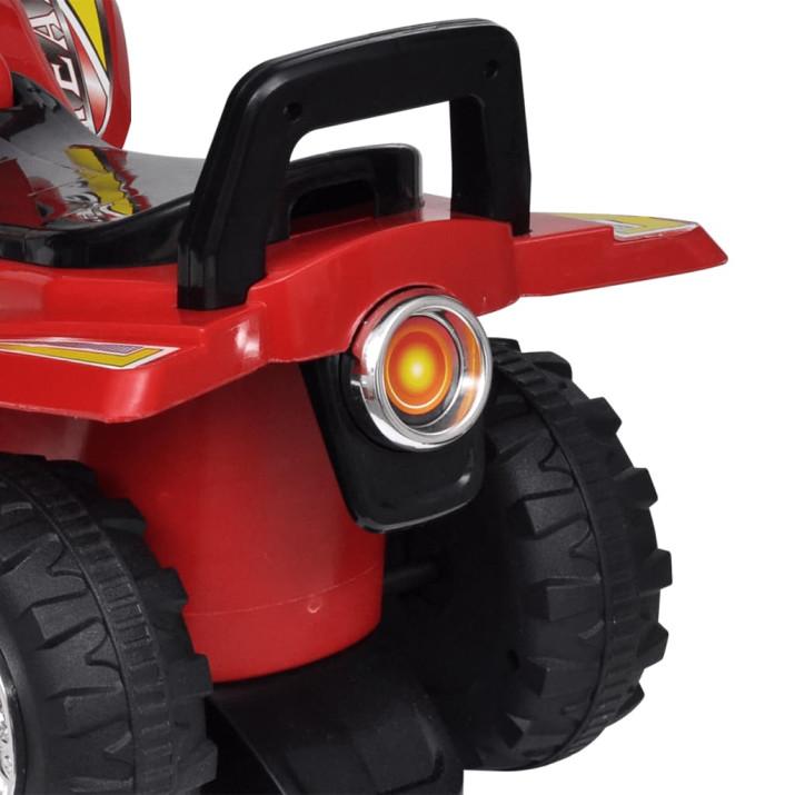 Gyerek játék quad hang- és fényeffekttel piros - utánvéttel vagy ingyenes szállítással