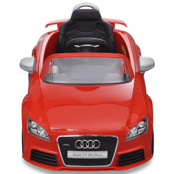 Audi TT RS Elektromos kisautó távirányítóval piros - ingyenes szállítás