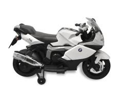 Elektromos BMW 283 gyerek motorkerékpár 6 V fehér - utánvéttel vagy ingyenes szállítással