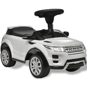Lad Rover 348 gyerek jármű zenével fehér - utánvéttel vagy ingyenes szállítással