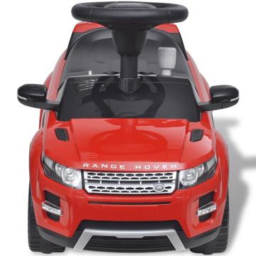Lad Rover 348 Elektromos kisautó zenével piros - ingyenes szállítás