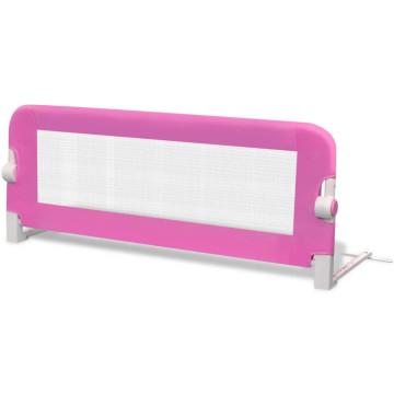 Rózsaszín leesésgátló totyogóknak 102 x 42 cm - ingyenes szállítás