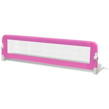 Rózsaszín leesésgátló totyogóknak 150 x 42 cm - ingyenes szállítás