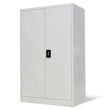 Szürke acél irodai szekrény 90 x 40 x 140 cm - ingyenes szállítás