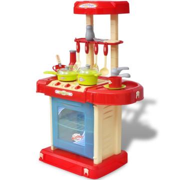 Gyerek játékkonyha fény és hangeffektussal - ingyenes szállítás