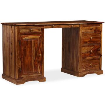 álló, tömör kelet-indiai rózsafa íróasztal 140 x 50 x 76 cm - utánvéttel vagy ingyenes szállítással