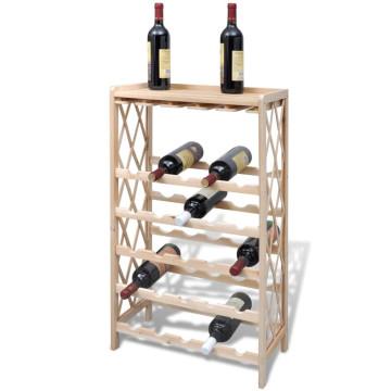 Fa bortartó állvány 25 palackhoz - ingyenes szállítás