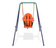 Narancssárga hintakészlet totyogósoknak, biztonsági övvel - utánvéttel vagy ingyenes szállítással