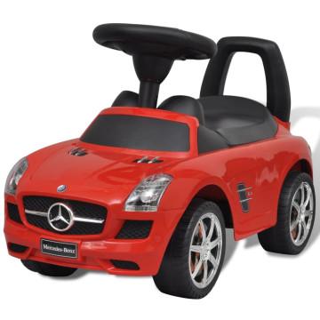 Mercedes Benz Toló Gyerekek Autó Piros - ingyenes szállítás