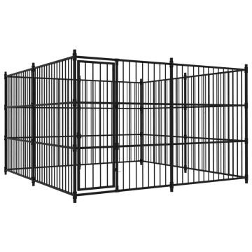Kültéri kutyakennel 300 x 300 x 185 cm - utánvéttel vagy ingyenes szállítással