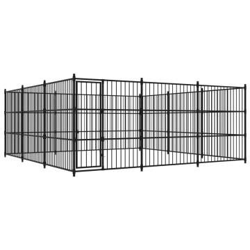 Kültéri kutyakennel 450 x 450 x 185 cm - utánvéttel vagy ingyenes szállítással